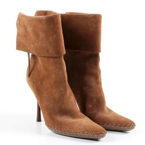Gucci Suede Stiletto Boot - WORN ONCE IN HOUSE